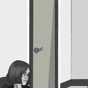 Board Member's Door